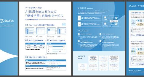 【無料ダウンロード】Sky Fox/スカイフォックス サービスリーフレット