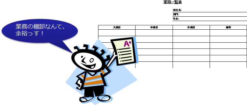 """図1 """"ハッタリ""""の業務の棚卸"""