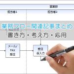 00-【業務フロー関連記事まとめ】業務フローの書き方・考え方・応用