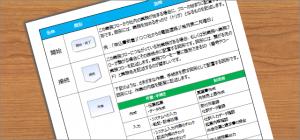 03-業務フローの書き方】業務フローを作成する為の最低限の5つの図形(記号)