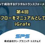 第4回業務フローをマニュアルとして使う iGrafx