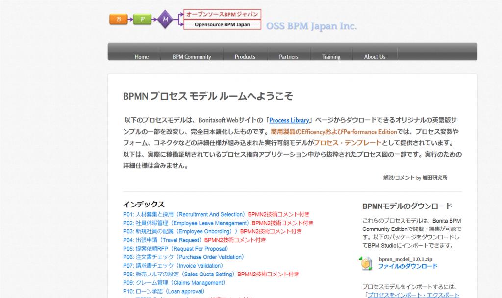 オープンソースBPM ジャパン株式会社 / 18種のBPMN2.0サンプルプロセス図