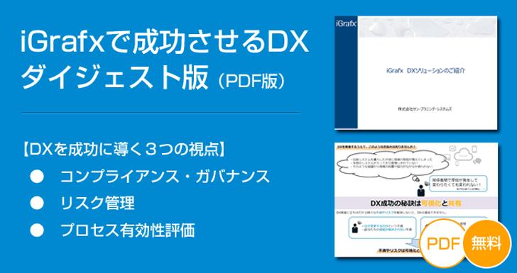 【無料ダウンロード】iGrafxで成功させるDX<簡易版>